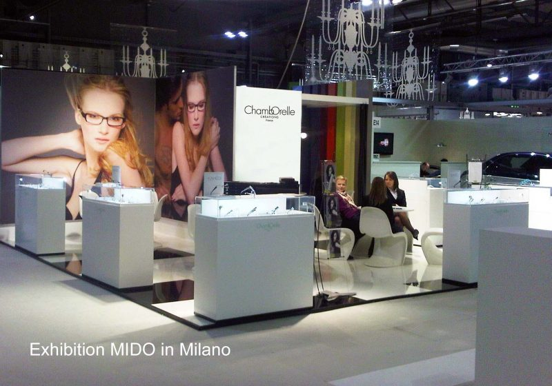Exposition MIDO in Milano, Italia